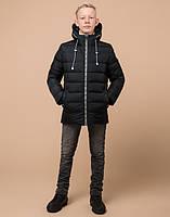 Braggart Kids   Детская зимняя куртка 65028 графит, фото 3