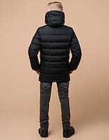 Braggart Kids   Детская зимняя куртка 65028 графит, фото 4