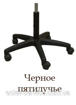 Основание кресла база-черное пластиковое пятилучье