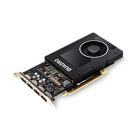 Видеокарта NVIDIA Quadro P2200 5GB (4)DP GFX  (6YT67AA)