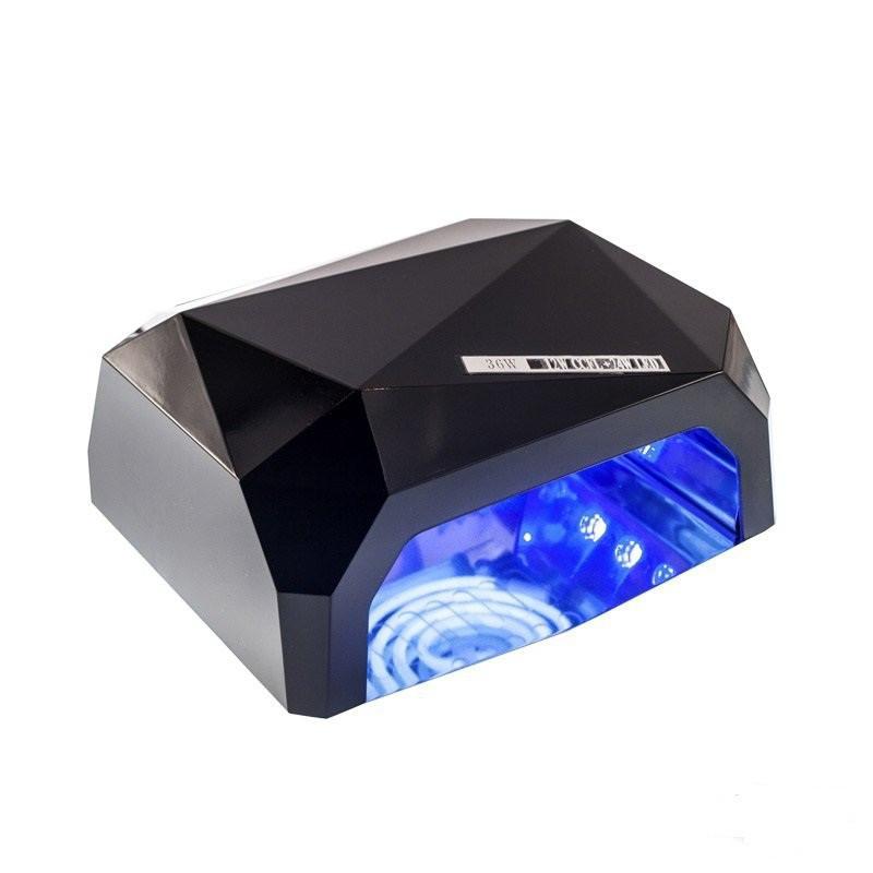 🔝 Ультрафиолетовая лампа, цвет - Черный, 36 Вт., Beauty nail CCF + LED, сушилка для ногтей, лед лампа | 🎁%🚚