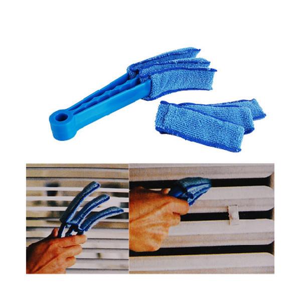 Щетка для чистки мойки жалюзи и радиаторов Clean Blinds Fast, голубая, с доставкой Киеву,Украине   - фото 2