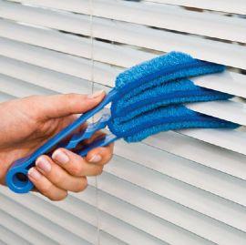 Щетка для чистки мойки жалюзи и радиаторов Clean Blinds Fast, голубая, с доставкой Киеву,Украине   - фото 6