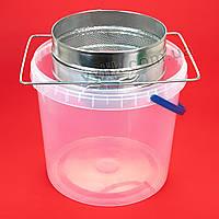 Фильтр с ровной сеткой оцинкованный 20 cм, фото 1
