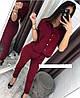 Костюм женский блуза и брюки  руд262