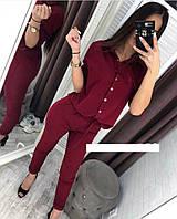 Костюм женский блуза и брюки  руд262, фото 1