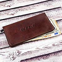 Оригинальный Кожаный Кошелек Dezzle (2602 коричневый)