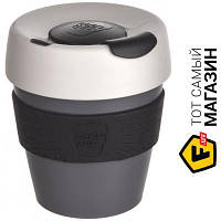 Кружка Keepcup для кофе, дорожная 227 — 1 шт. — пластик цвет серый можно мыть в посудомоечной машине, подходит для микроволновой печи