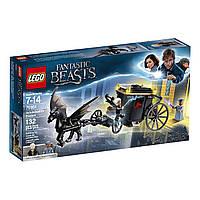 Конструктор ЛЕГО Фантастического Зверя Гриндельвальда LEGO Fantastic Beast's Grindelwald's Escape 75951