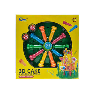 Мозаика 3D Торт, 25 деталей, фото 2
