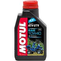 Моторное масло для квадроцикла Motul ATV-UTV 4T 10W40 1л