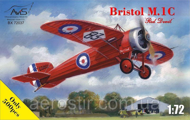 "Bristol M.1C ""Red Devil"" 1/72 AVIS 72037"