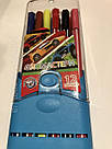 Набор цветных фломастеров 12 шт Голубой, фото 2