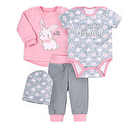 Комплект Бемби КП223 56 см розовый серый (05223021130.3X1)