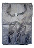 🔝 Защитный чехол на сидение авто - накидка на спинку переднего сидения с карманом, Smiinky NY-11   🎁%🚚