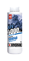 Моторное масло для квадроцикла IPONE ATV 4000 10W40 4T 1л