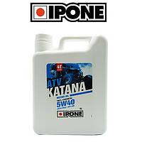 Синтетическое моторное масло для квадроцикла IPONE KATANA ATV 4000 5W40 4л