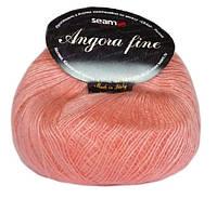 Пряжа Сеам Angora Fine Розовый
