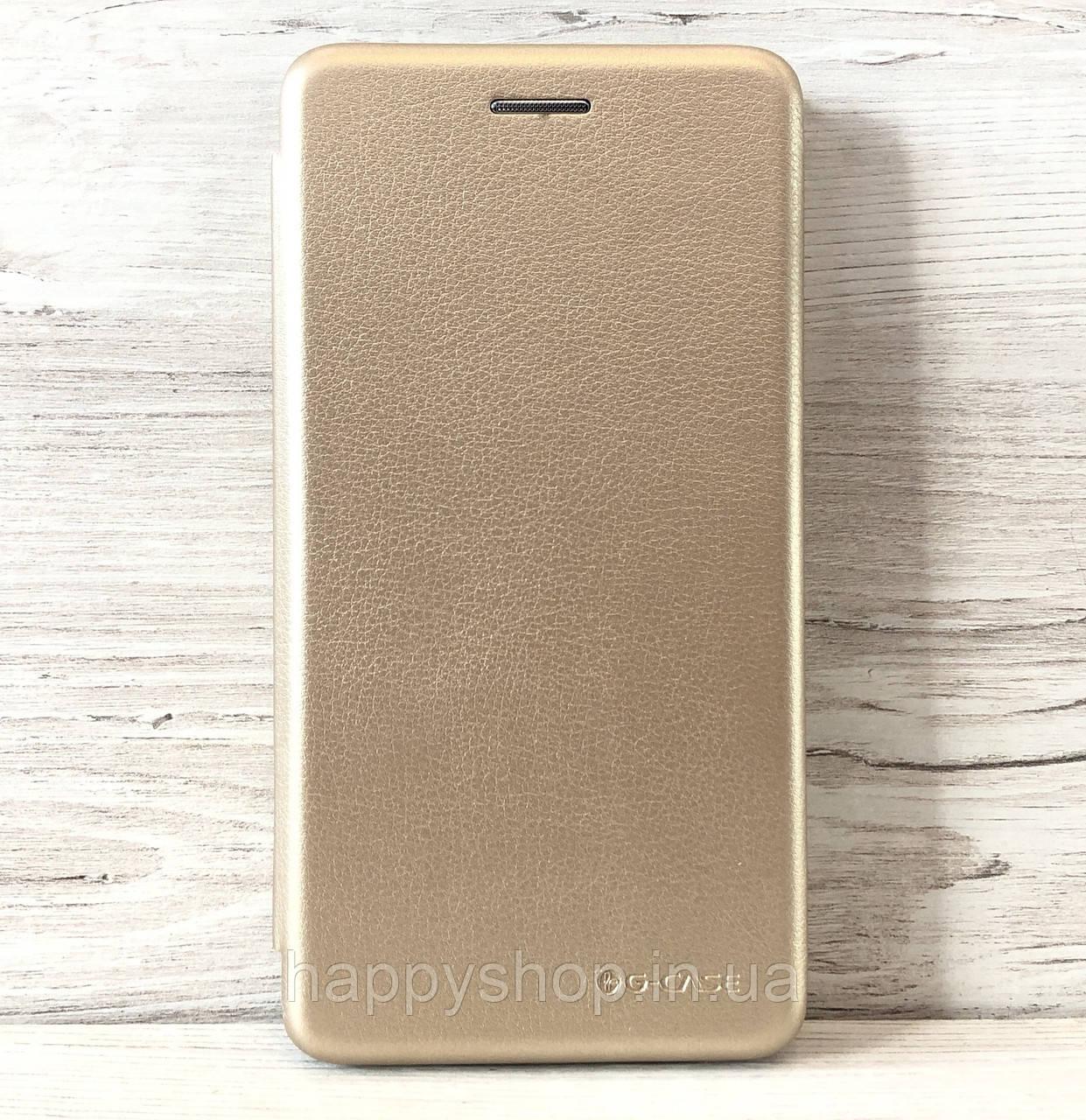 Чехол-книжкаG-case для Samsung Galaxy J3 2017 (J330) Золотой