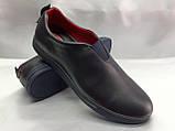 Стильные кожаные кеды-слипоны Madoks, фото 5