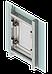Люк ревизионный SecretDoors распашной скрытого монтажа под отделку 500х600 мм, фото 5