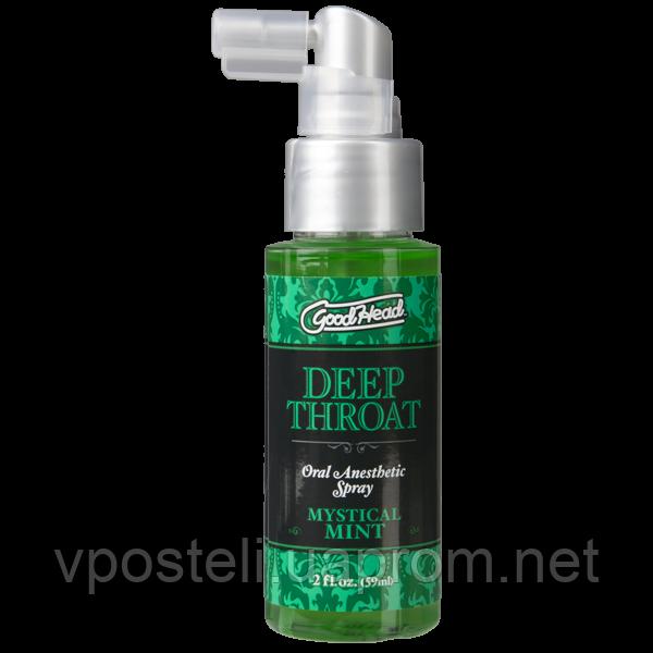 Спрей для мінету Doc Johnson GoodHead Deep Throat Spray (м'ята)
