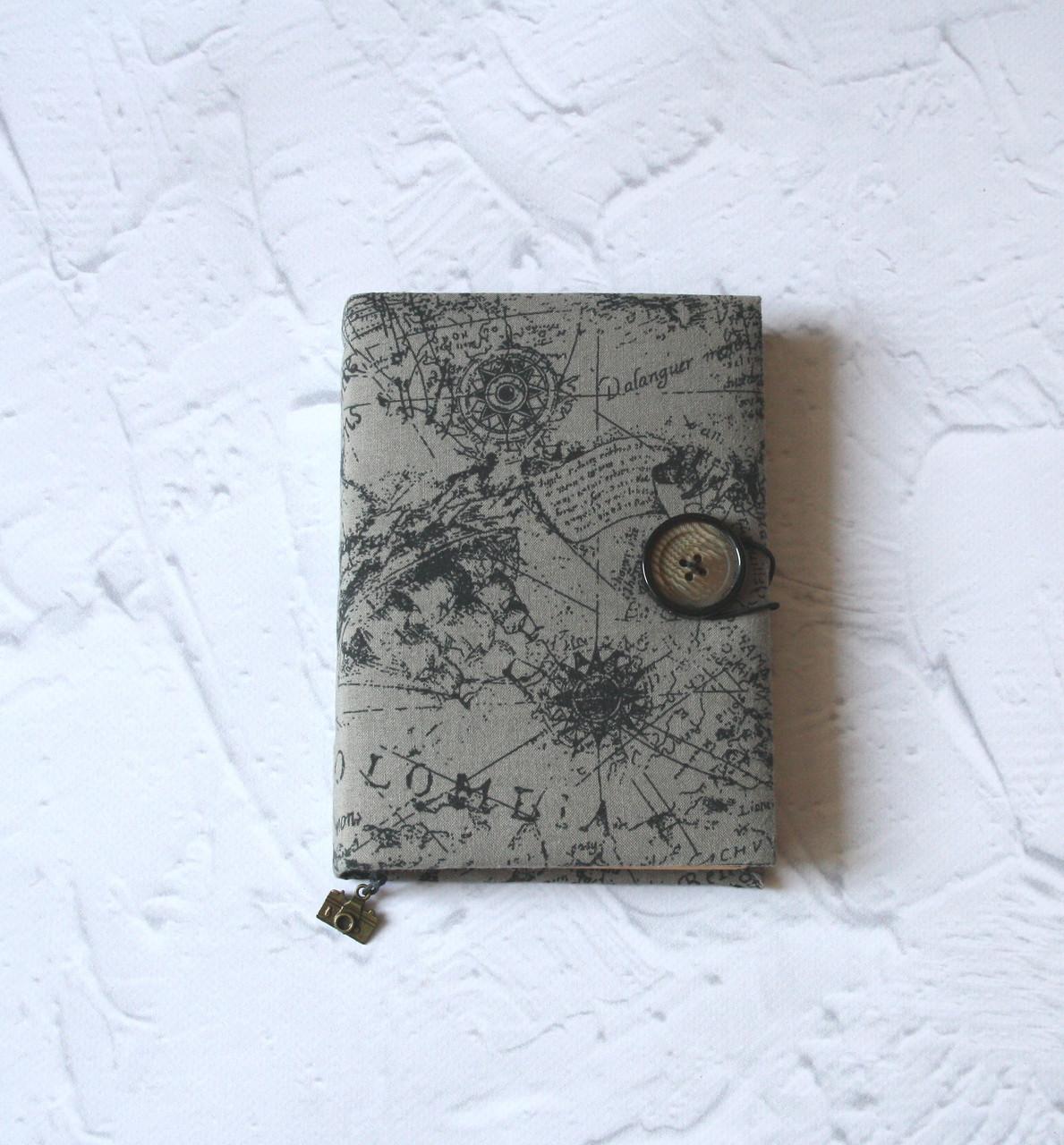 Блокнот а6 размера мужчине винтажный карта для путешествий