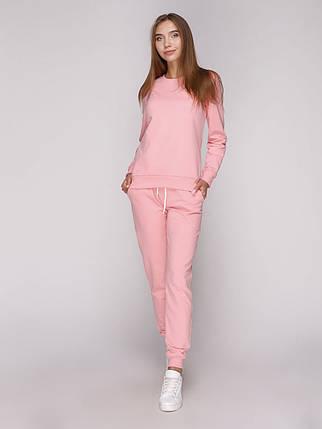 Костюм спортивний жіночий рожевий, фото 2