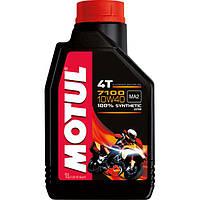 Моторное масло Motul 7100 4T 10w40 1л