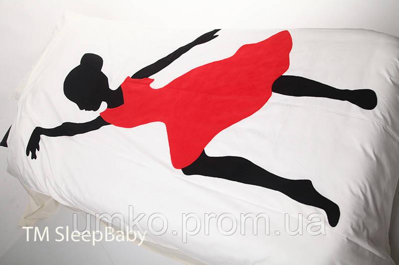 """Полуторный постельный комплект """"Танцовщица"""""""
