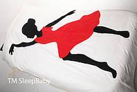 """Полуторный постельный комплект """"Танцовщица"""", фото 1"""