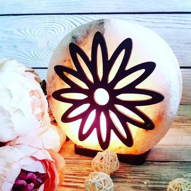 Соляная лампа «Цветок»