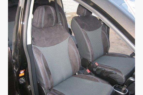 Авточехлы Premium Nissan Tiida 2011-2014 гг.