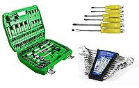 Набор инструментов 108 ед. ET-6108SP + набор ключей 12 ед. BT40012 + Набор ударных отверток 6 шт. 39K403