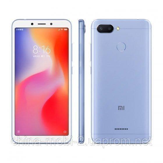 Смартфон Xiaomi Redmi 6 4 64Gb EU Blue