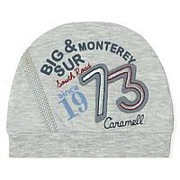 Шапка для новорожденного мальчика Caramell Caramell