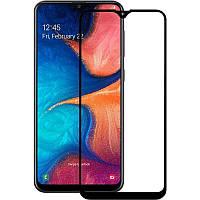 Защитное стекло 3D 9H (full glue) (без упаковки) для Samsung Galaxy A20 / A30 / A50