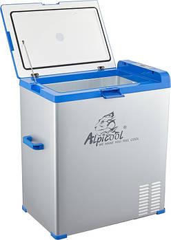 Автохолодильник компрессорный Alpicool А75 (75 литров). Режим работы + 20 ℃ до -20 ℃. 12/24 / 220V