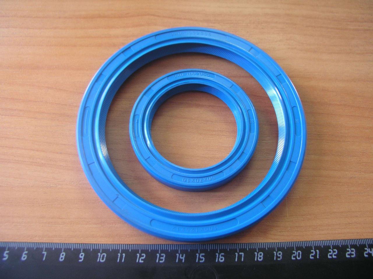 Комплект Д-240 манжет (сальников) коленвала