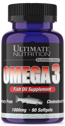 Омега Ultimate Nutrition - Omega 3 1000 мг (90 капсул)