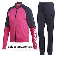 Костюм женский оригинальный adidas спортивный DV2437 цвет: розовый / синий