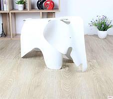 Стул пластиковый детский Слон, табурет пластиковый KIDS SLON