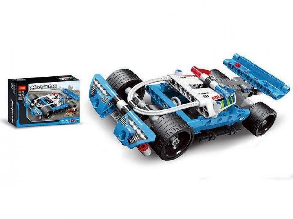 """Конструктор Decool 3424 (аналог Lego Technik 42091) """"Полицейская погоня"""", 160 дет"""