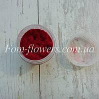 Флок темно-красный (бордовый), 1 мм., фото 1