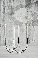 Підсвічник Дроти-Крученики Кварта 23х23х21 см