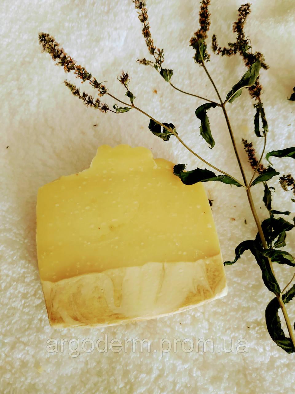 Крем мыло смягчающее кожу с экстрактом донника, ромашки и лесным медом