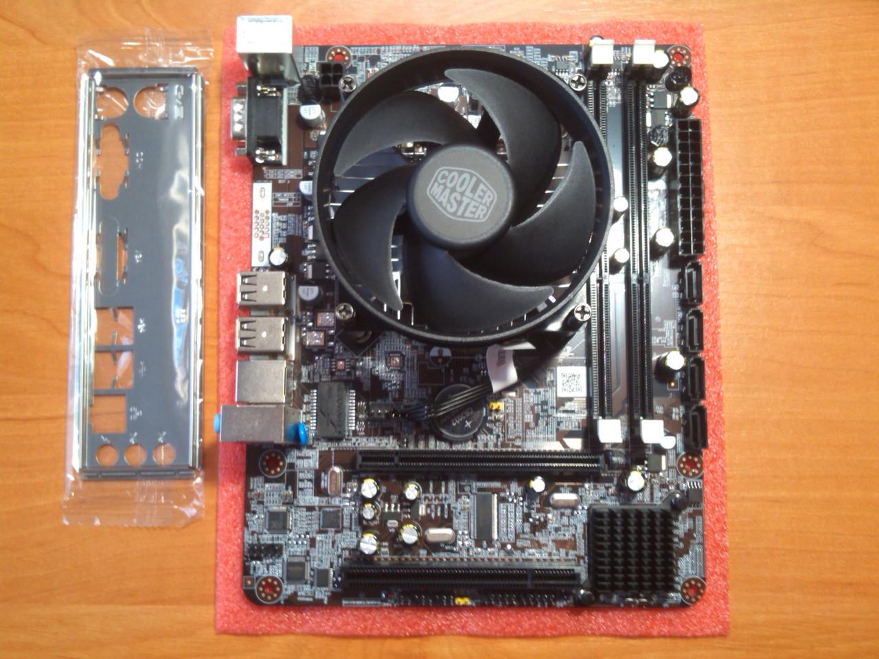 Huanan P55-A + Intel i3-540 сокет 1156 Новий!
