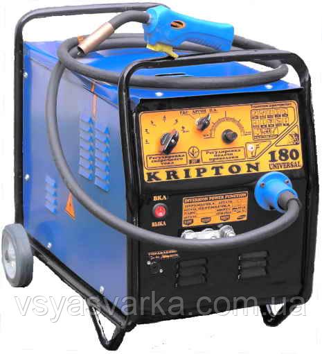 Зварювальний напівавтомат Kripton 180 universal+В+М