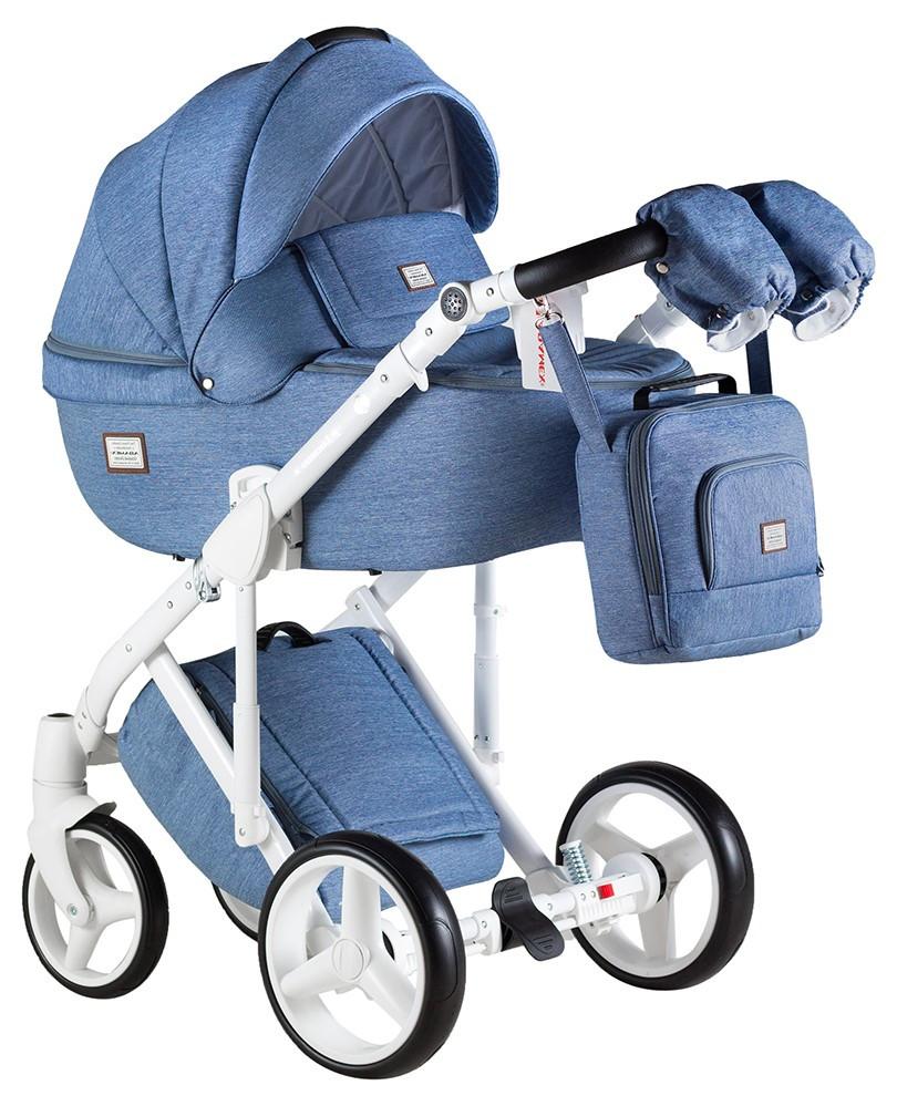 Детская универсальная коляска 2 в 1 Adamex Luciano Q-4
