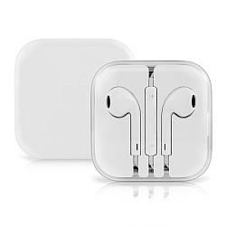 Наушники для телефона с микрофоном EarPods copy, проводная гарнитура